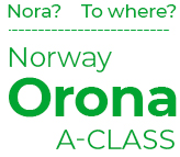 Nora?... To where? Norway Orona a-class